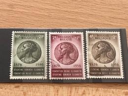 N°991-993 Oblitérés TB 80 Anniversaire Reine Elisabeth - Used Stamps