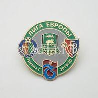 Badge Pin:  UEFA Europa League Group C: 2019-29 : Krasnodar, Getafe CF, Basel, Trabzonspor - Fútbol