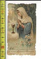 KL 5614 - SOUVENIR DE COMMUNION SOLENNELLE DE MARGUERITE MAFESYS A BOESCHEPE 1926 - Andachtsbilder