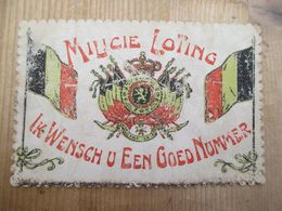 Milicie Loting Militair 1909 - Militaria