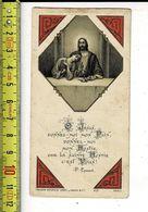 KL 5615 - SOUVENIR DE COMMUNION SOLENNELLE DE MICHEL LARASOTE A BOESCHEPE 1929 - Andachtsbilder