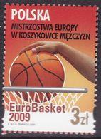 POLAND 2009 Euro Basketball Championship Fi 4297 Mint Never Hinged - 1944-.... Republic