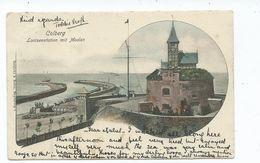 Germany Postcard Colberg Lootsenstation Mit Moolen Posted 1902 - Bad Colberg-Heldberg