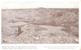55 BATAILLE DE VERDUN LE VILLAGE DE VAUX  26 AVRIL 1917 - Guerra 1914-18