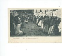 JERUSALEM  MUR RES JUIFS UN VENDREDI - Postcards