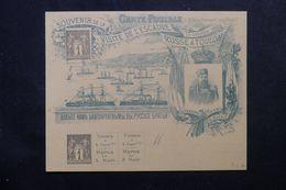 FRANCE - Entier Postal Au Type Sage 1ct X2 De L'Escadre Russe à Toulon En 1893 , Non Circulé - L 62699 - Entiers Postaux