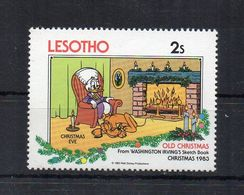 Leshoto - 1983 - Walt Disney - Natale 83 - Nuovo ** - (FDC22308) - Lesotho (1966-...)