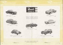 Pages Centrales Du Magazine HO RIVAROSSI No 44 Giugno 1961 REVELL - En Italien - Boeken En Tijdschriften