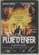 "{42436} DVD "" Pluie D' Enfer "" ; Morgan Freeman , Christian Slater - Policiers"