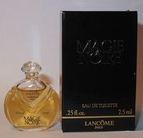 LANCÔME : Magie Noire. Eau De Toilette 7,5 Ml. Version 1986. Parfait état - Modern Miniaturen (vanaf 1961)