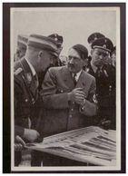 """DT- Reich (009193) Propaganda Sammelbild Adolf Hitler"""" Bild 187, Vorbereitungen Zum Reichsparteitag 1935 - Germania"""