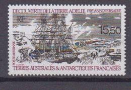 TAAF 1990-P.A. N°111** DECOUVERTE DE LA TERRE ADELIE - Airmail