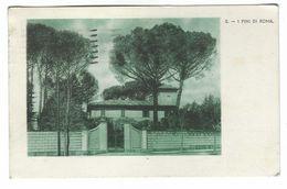 CL263 - ROMA I PINI DI ROMA 1936 NON COMUNE - Autres Monuments, édifices