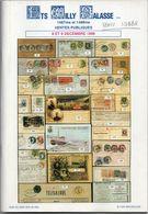 Catalogue Collection Du Dr Stibbe, Par Les Ets Willy Balasse 1999 - Entiers Postaux De Belgique, Avec Prix Atteints - Catálogos De Casas De Ventas
