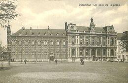 028 172 - CPA - Belgique - Boussu - Un Coin De La Place - Boussu