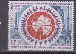 TAAF 1989-P.A. N°109** TRAITE SUR L'ANTARCTIQUE - Corréo Aéreo