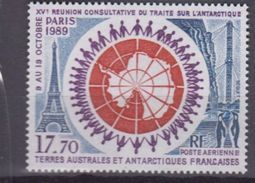 TAAF 1989-P.A. N°109** TRAITE SUR L'ANTARCTIQUE - Airmail