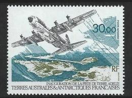 """TAAF Aerien YT 128 (PA) """" Piste De Terre Adélie """" 1993 Neuf** - Airmail"""