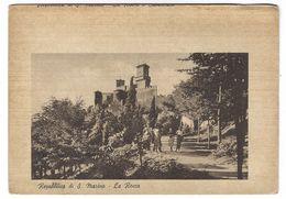 CL270 - REPUBBLICA DI S MARINO LA ROCCA ANIMATA 1940 CIRCA - San Marino