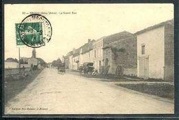 79  BRIOUX   ....  La  Grande Rue - Brioux Sur Boutonne