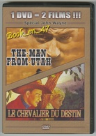 "{42484} 1 DVD 2 Titres "" The Man From Utah "" "" Le Chevalier Du Destin "" ; John Wayne - Western / Cowboy"
