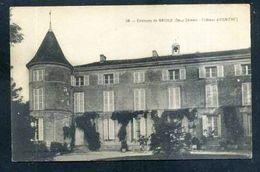 79  BRIOUX Sur BOUTONNE ......le Chateau D ASNIERES - Brioux Sur Boutonne