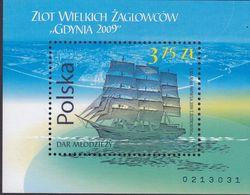 POLAND 2009 Gdynia Fi Blok 219 Mint Never Hinged - 1944-.... Republic