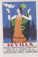 Sevilla - Exposicion Ibero-Americana - Firmata       (A-225-200210) - Altre Illustrazioni