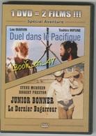 """{42481} 1 DVD 2 Titres """" Duel Dans Le Pacifique """" """" Junior Bonner Le Derrnier Bagarreur """" ; Steve McQueen , Marvin - Action, Aventure"""