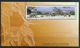 Namibia Mi# Block 58 Postfrisch/MNH - Fauna - Namibia (1990- ...)