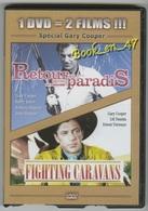 "{42479} 1 DVD 2 Titres "" Retour Au Paradis "" "" Fighting Caravans "" ; Gary Cooper , Haynes Hudson , Torrence , Damita - Action, Aventure"