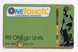 GHANA RECHARGE ONETOUCH 90 U AIDS - Ghana