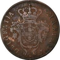 Monnaie, Azores, 20 Reis, 1795, TB+, Cuivre, KM:3 - Azores