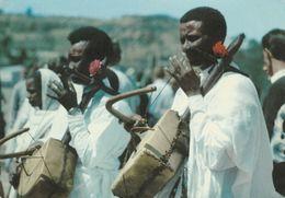 22221 - ETIOPIA - SUONATORI - DA ASMARA A SPILIMBERGO - Ethiopie
