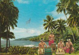 22222 - TAHITI - SUONATORI - DA PAPEETE A LIVORNO - Postcards
