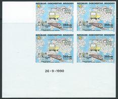 MADAGASCAR PA N°203** U.P.U. COIN DATE NON DENTELE DU 26/09/90 - Madagascar (1960-...)