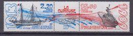 TAAF 1989-P.A. N°106A** NAVIRE LA CURIEUSE - Corréo Aéreo