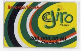 MOZAMBIQUE RECHARGE GIRO 300 000 MT Date 01/06/2003 - Mozambico