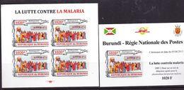 BURUNDI Lot 2 Blocs La Lutte Contre LA MALARIA Neuf 2013 - Burundi