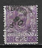 ITALIE.    .1901  .  .Y&T N° 72 Oblitéré . - Usati