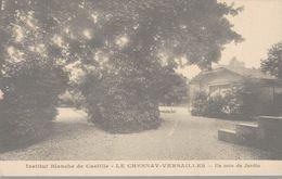 78 INSTITUT BLANCHE DE CASTILLE  LE CHESNAY-VERSAILLES  UN COIN DE JARDIN - Le Chesnay