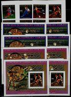 MALI 1998 WINTER OLYMPICS GAMES NAGANO 98 SET OF PAIR IMPERF+4 BLOCKS MNH VF!! - Winter 1998: Nagano