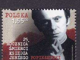 POLAND 2009 Father Popieluszko Fi 4306 Mint Never Hinged - 1944-.... Republic
