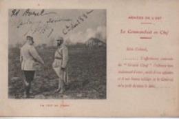 GENERAL  JOFFRE   LE COMMANDANT EN  CHEF ARMEE DE L EST  DU 133 EME  REGIMENT D INFANTERIE - Personnages