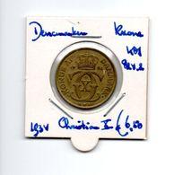 DENEMARKEN KRONA 1934 CHRISTIAN X - Denmark