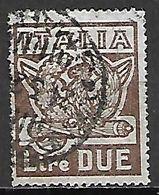 ITALIE   -   1923.  Y&T N° 138 Oblitéré - Usati