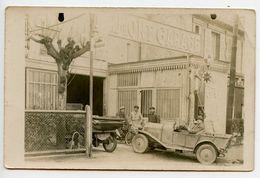 "ERMONT - Carte Photo ""Ermont Garage""  Automobiles - Voir Scan - Ermont"
