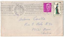 IZ768   Spain 1971 - Cover Benidorm (Alicante) To Italy - 1931-Hoy: 2ª República - ... Juan Carlos I