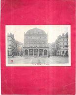 LE HAVRE - 76 - Le Théâtre -  PUB MOKA WILLIOT Au Dos - BERG1 - - Le Havre