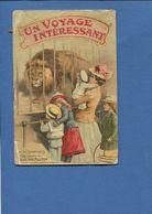 EN L 'ETAT Livret Ancien CACAO VAN HOUTEN - UN VOYAGE INTERESSANT Animaux Jardin Acclimatation - Advertising